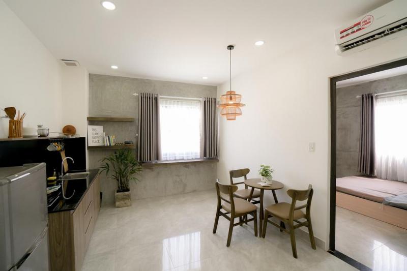 Phòng bếp riêng tại May Home