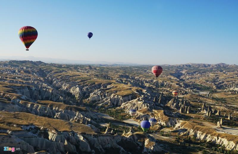 Thành phố khắc trong đá Cappadocia, Thổ Nhĩ Kỳ