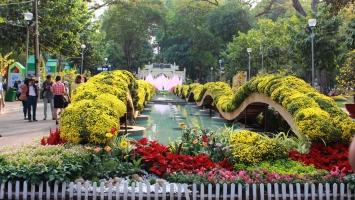 Top 7  hội hoa xuân đẹp nhất ở Sài Gòn
