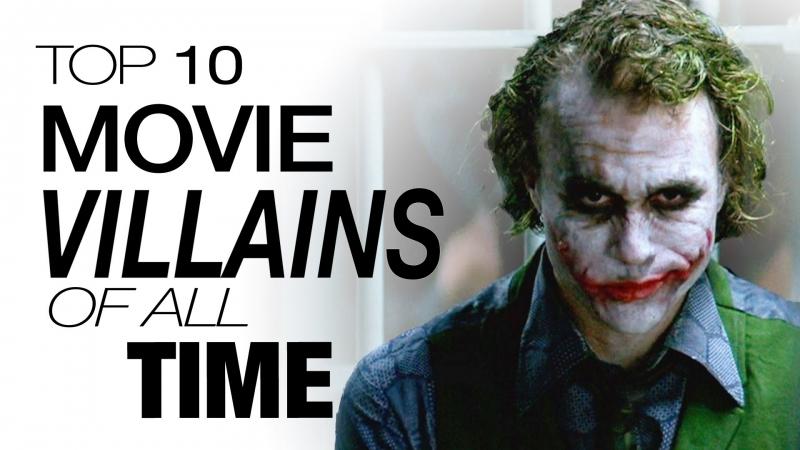 Top 10  nhân vật phản diện nổi tiếng nhất trên phim ảnh