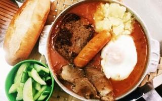 Top 8  Quán bánh mỳ chảo ngon nhất Đà Nẵng