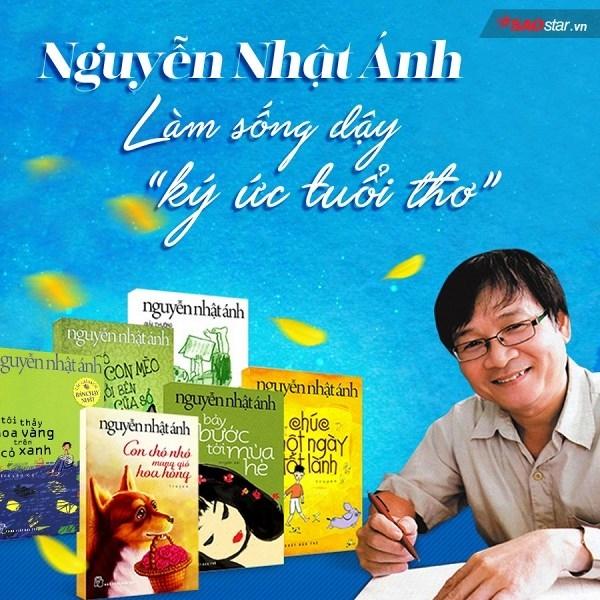 Top 5  truyện hay nhất của nhà văn  Nguyễn Nhật Ánh